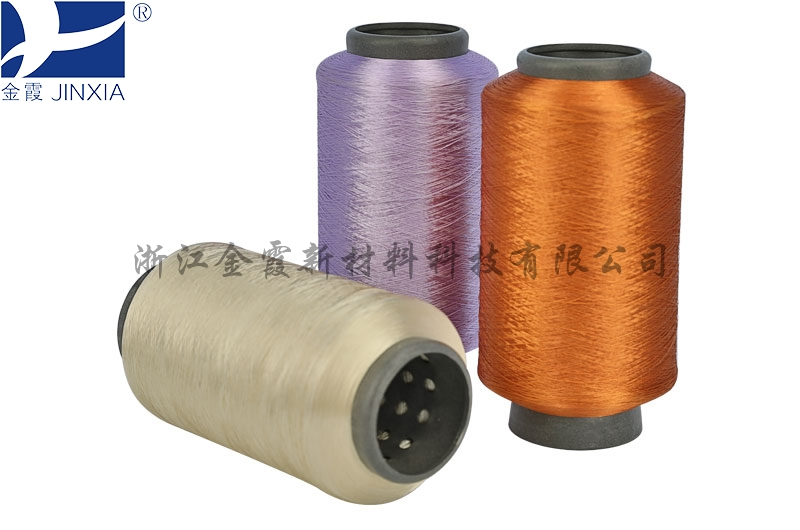 Colored  Polyester Yarn micro filament elastic DTY