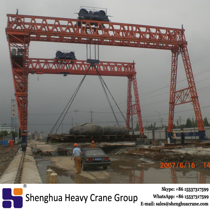 China HSHCL high quailty truss type shipbuilding gantry crane used shipyard