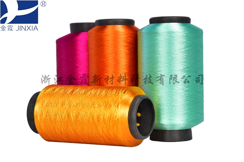 Tenacity Dope Dyed Polyester Yarn micro filament elastic