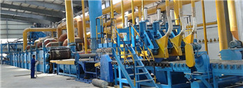 Rock/slag wool insulation production line