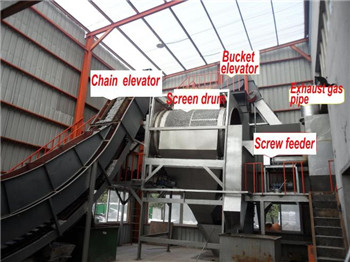 Automatic metal Aluminum Chips processing line