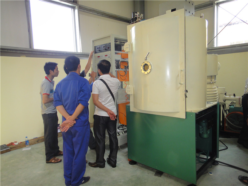 DC sputtering deposition coating equipment Small PVD machine