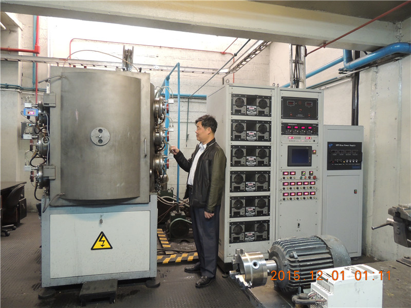 Physical vapor deposition cathodic arc evaporation/deposition coating system PVD machine