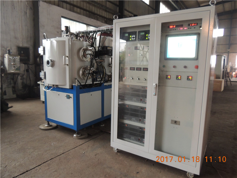 Decorative vacuum PVD sanitary parts coating machine for sale