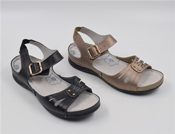 fashion new design summer comfortable flat sandals shoes for women and ladies