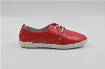 Hot sale Hand Made casual woman man leather shoes with top Quality