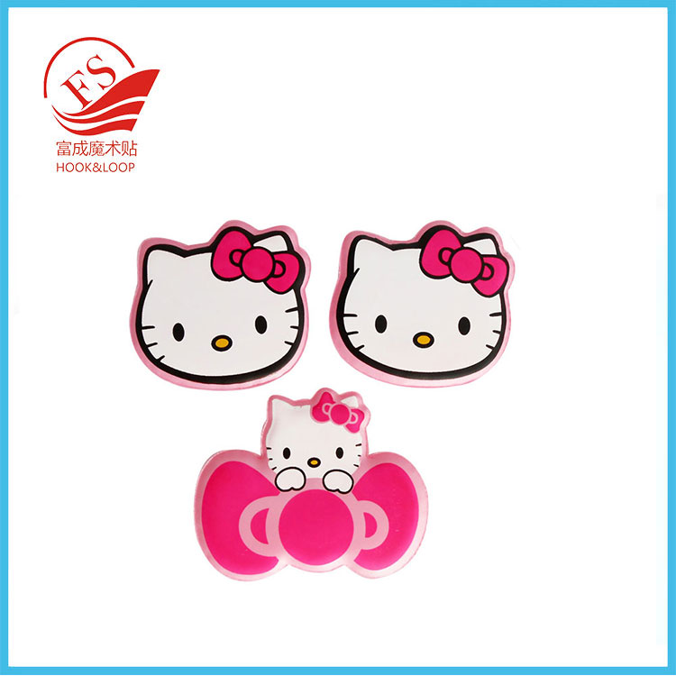 Korean-style Custom Design Shape Hook and Loop Hair Accessories with high quality