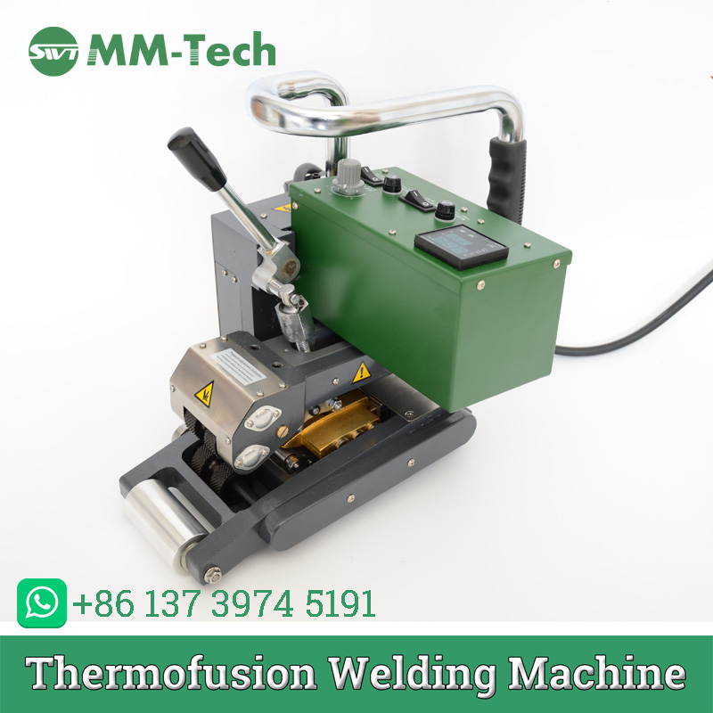 Small Electric Welding Machine Of Thick Geomembrane Hot Wedge Welder