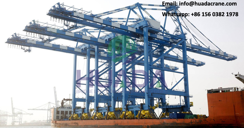50ton quayside container crane ship to shore quay crane for port