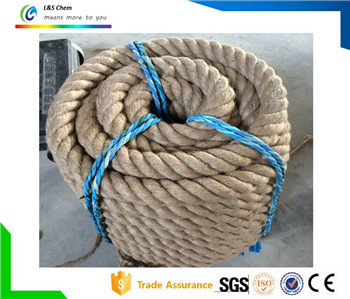 Direct 3 Strand Twist Jute Sisal Rope Factory
