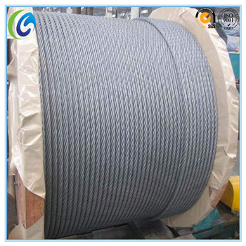 Factory Price Galvanized/Ungalvanized Steel Wire Rope