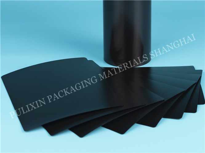 HIPS/PP surface conductive plastic film  for electronic components packaging for thermoforming