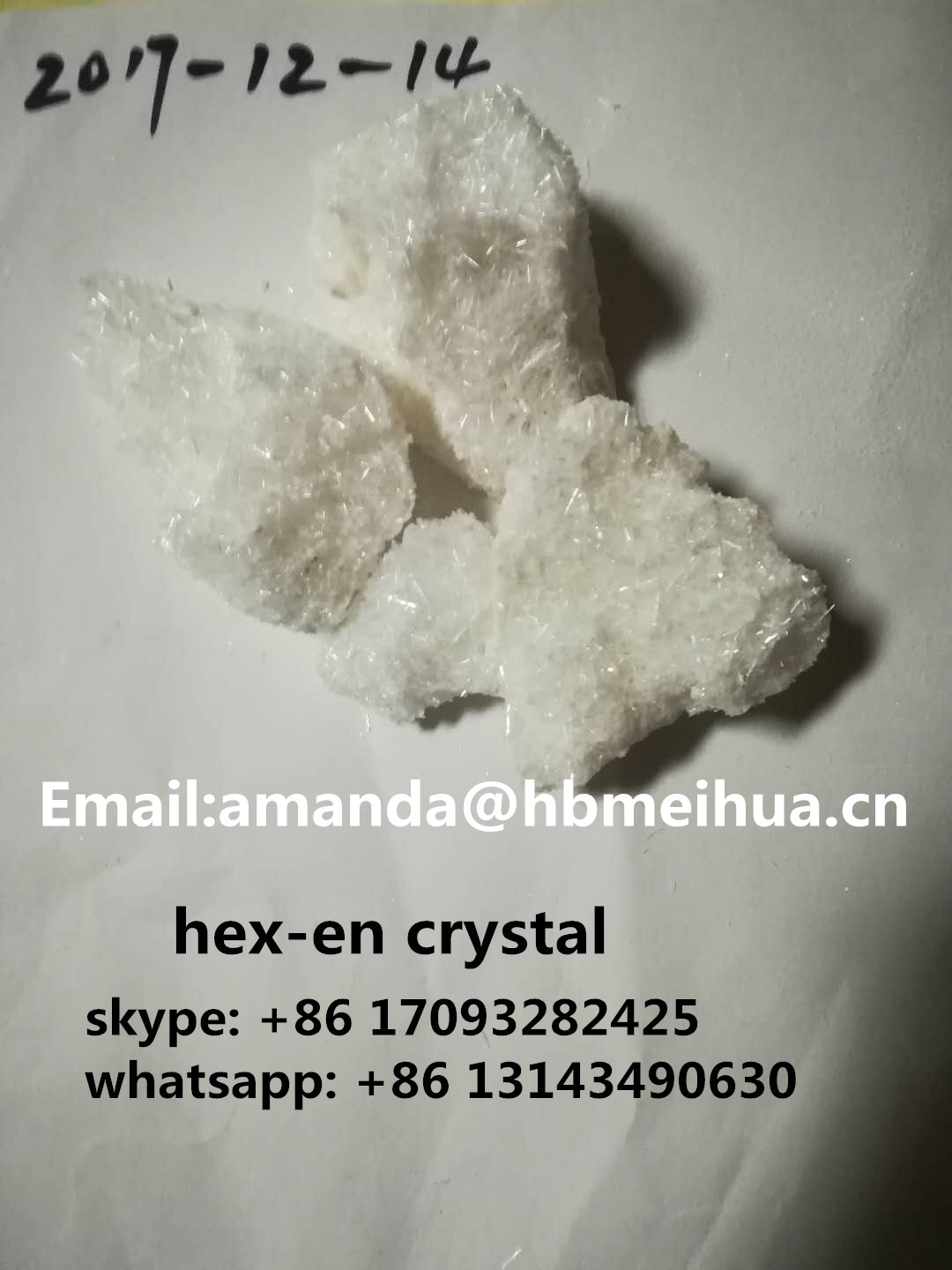 HEX-EN, Crystal/Powder/Needle (Cocaine replacement) hexen,N-Ethylhexedrone,Ethyl-Hexedrone,