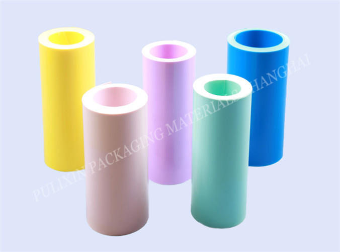 Matt colorful HIPS/PP plastic film  for electronic components packaging for thermoforming