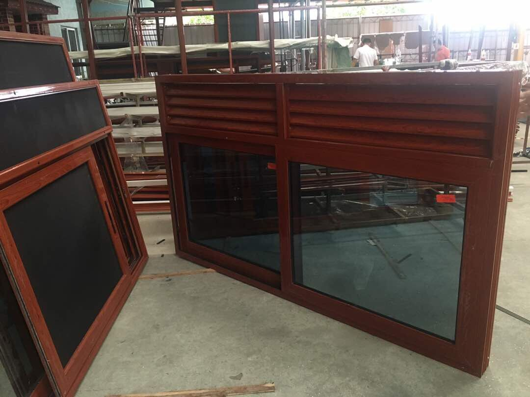 Aluminum Framed Horizontal Sliding Window