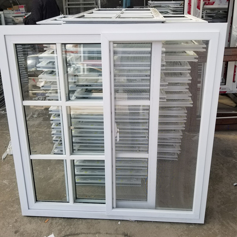 Cheap Pvc Horizontal Sliding Windows