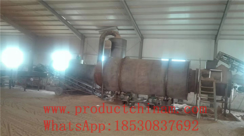 Sand dryer/ River sand drying plant/Mingzheng machinery