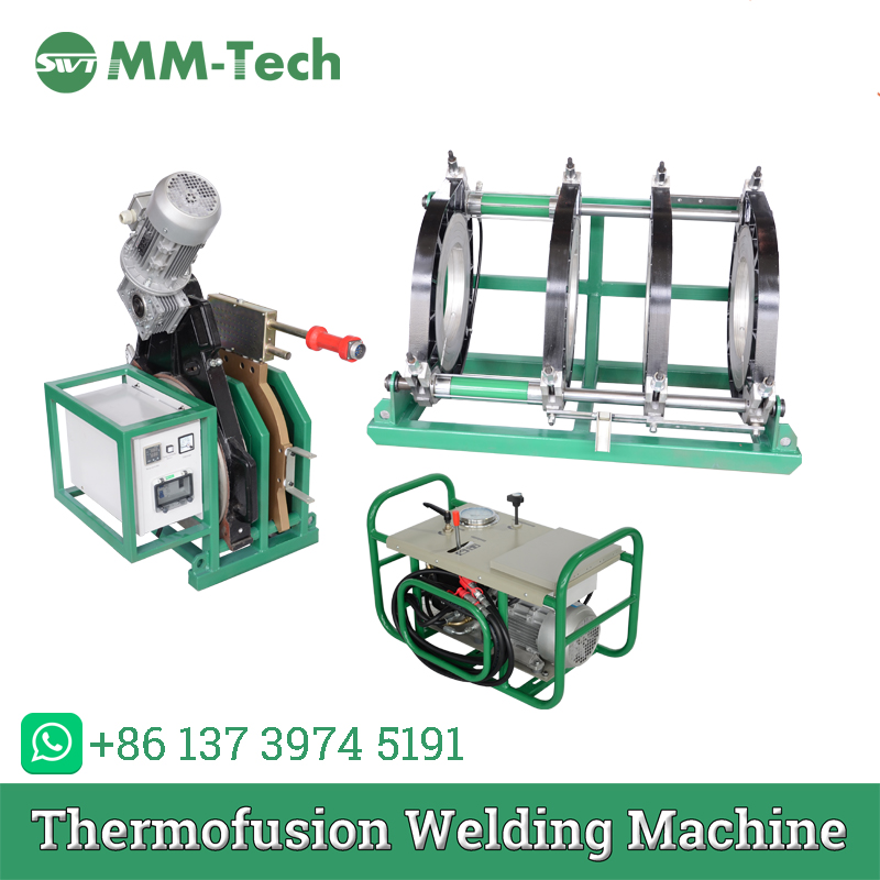 SWT450/200H Hdpe Pipe Hydraulic Butt Fusion Welding Machine