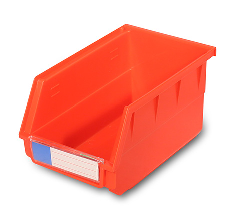 Wall-mounted industrial spare parts storage box
