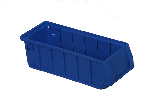 Big capacity stacking plastic picking bins for workshop