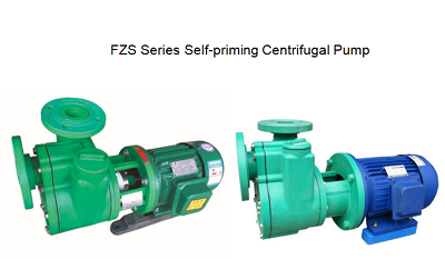 FZS Series PP centrifugal self-priming pump
