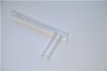 Customize all kinds of glass instruments quartz gasification tube
