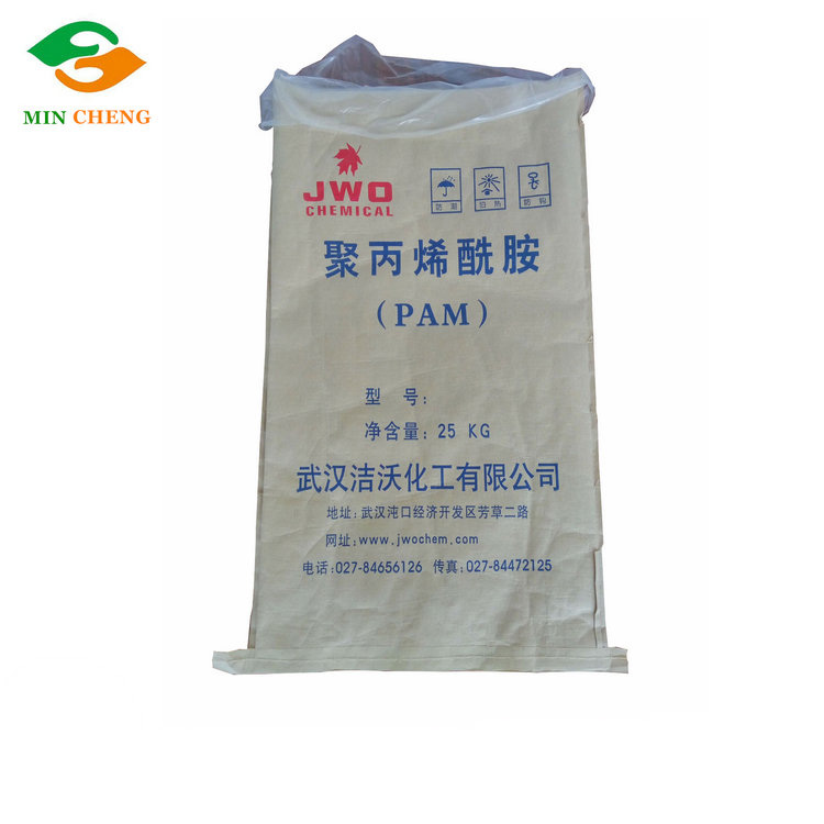 paper poly bag with pe liner