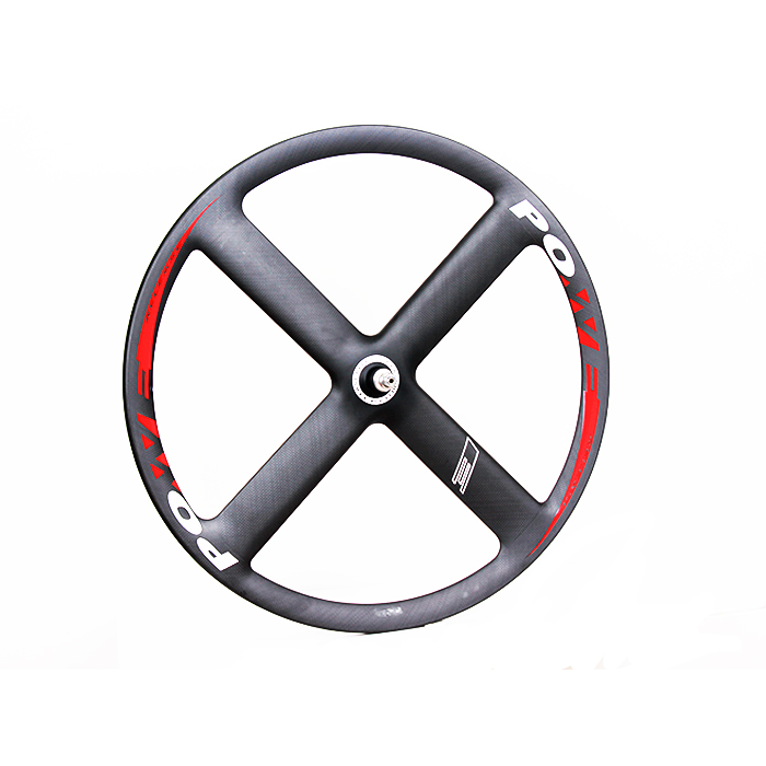 T4S 4 Spoke wheels 23mm width 37mm depth [road and track Compatible] free shipping