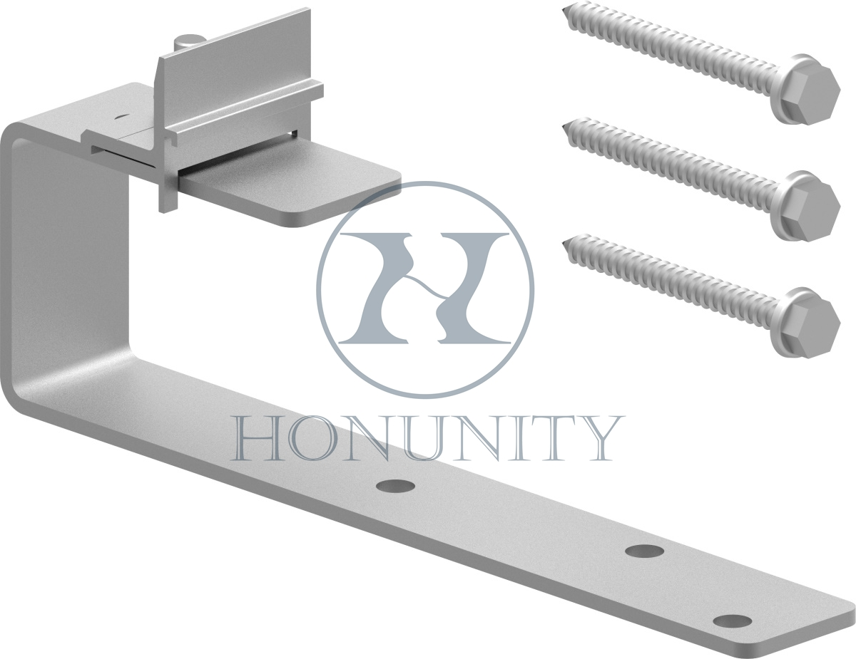Honunity Technology Stainless Steel Slate Roof Hook for Solar Power Installation on Tile Roof