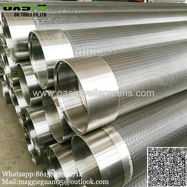 Welded type wedge wire screen China supplier