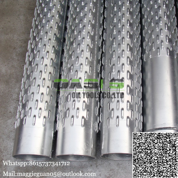 Low price bridge slotted well screens made in China