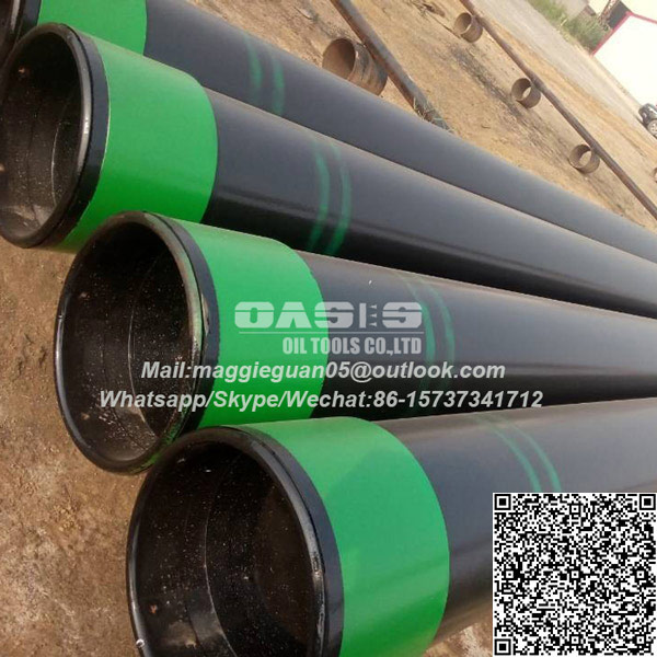 API J55/K55/M65/N80/L80 Steel Well Casing and Tubing