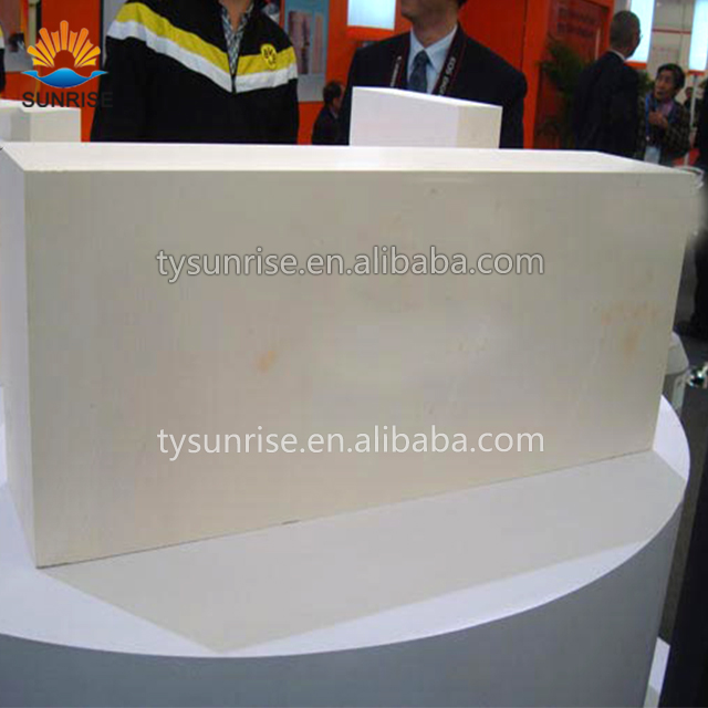 fireproof case fused cast azs refractory brick for glass furnace, AZS--33,36,41