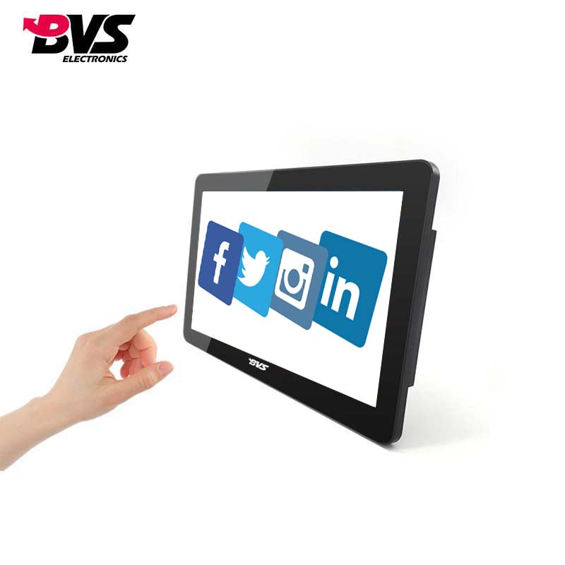 touch screen all in one computer with 15.6 inch IPS screen