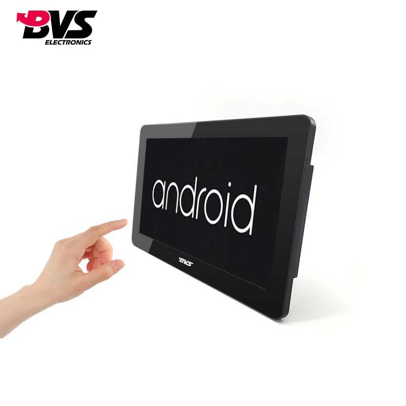 wall mounted android touch screen monitor with capacitive touch