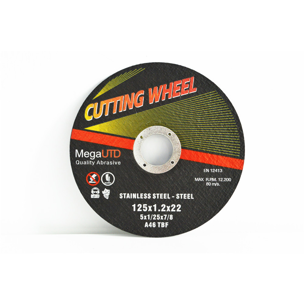 Super thin cutting wheel/Disc for ferrous metal and stainless steel cutting