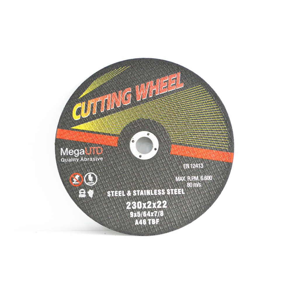 Ferrous metal and stainless steel cutting Resin bonded cutting wheel/disc