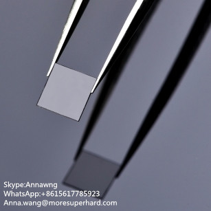 CVD single crystal plates Optical grade CVD flake shape