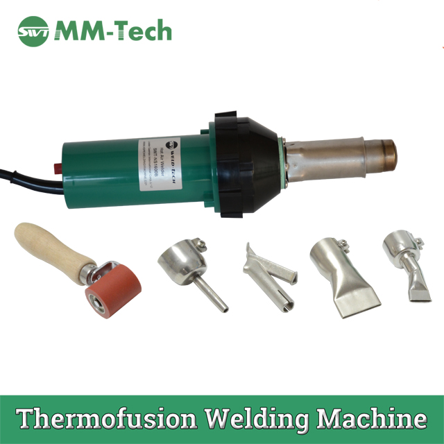 Automatic 800w Thermofusion Welding Machine Hot Air Welder For 0.2mm-1mm