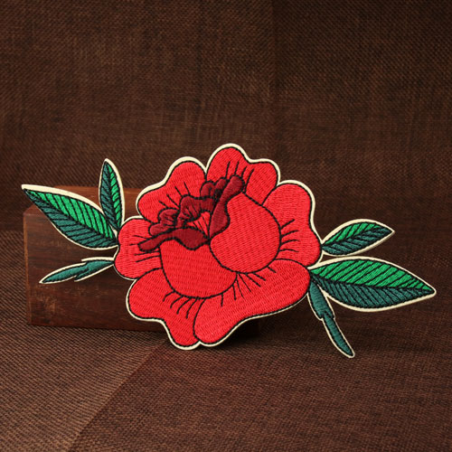 Flower Custom Embroidered Patches