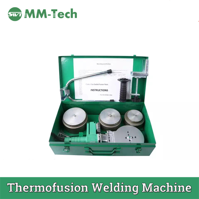 From 75mm Manual Ppr Pipe Heat Fusion Welding Machine 110mm
