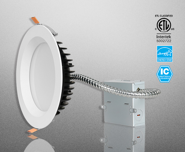 Industrial LED Anti-glare Downlight