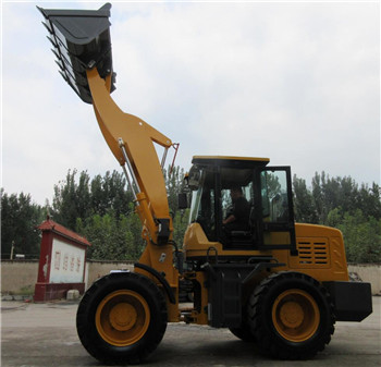 Long boom loader with high dumping height supplier