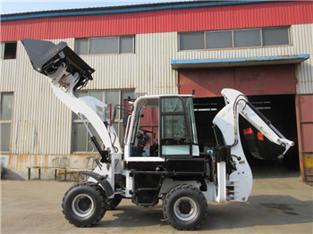 Factory backhoe small garden tractor loader backhoe