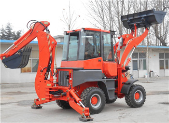 WZ45-16 small backhoes front loader and excavators machine for sale
