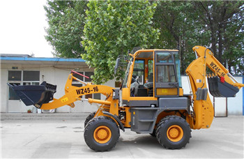 Functional mini backhoe loader digger small backhoe excavator post hole