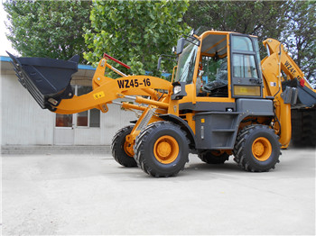 50hp backhoe EuroIII emission standard farm tractor with loader and backhoe agricultural tires