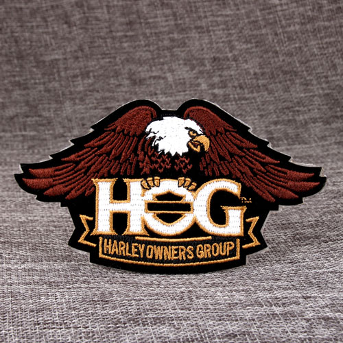 Custom Made Patches | Custom Patches | HOG Custom Made Patches
