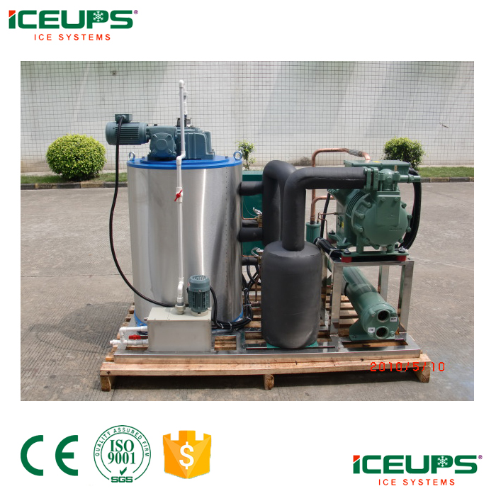 Commercial salt water ice flake machine 2.5ton