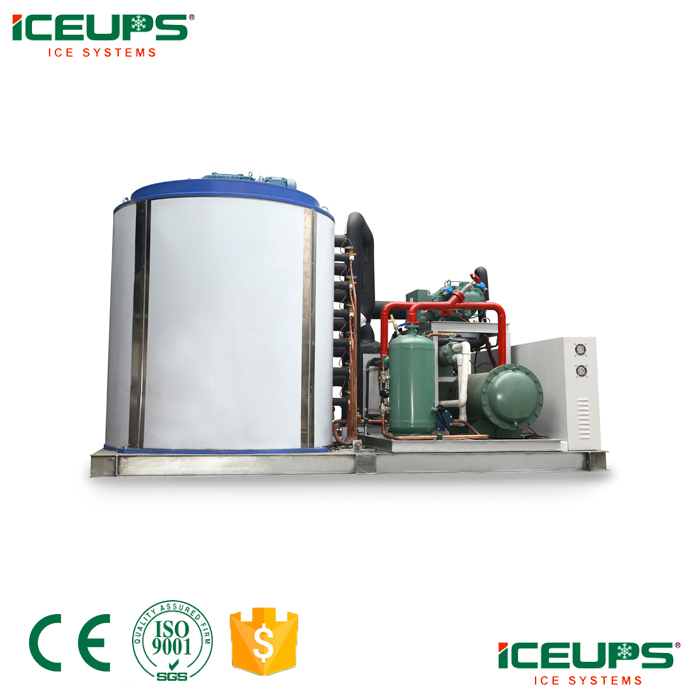 ICEUP industrial flake ice machine 25tons